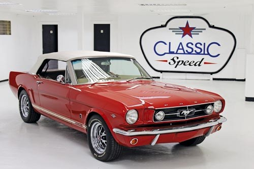 1964 � D-Code Mustang coupe