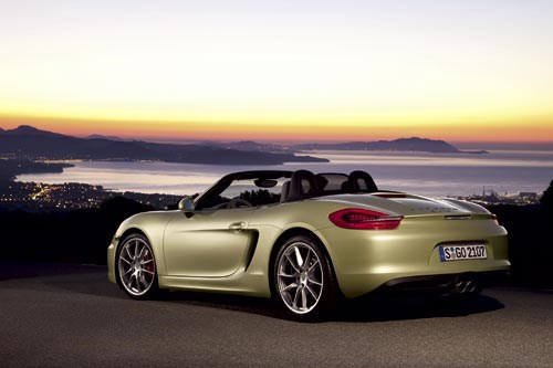 Porsche Boxster 2.7 rear view