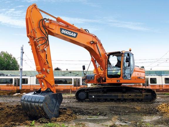 Doosan DX255LC hydraulic excavator review