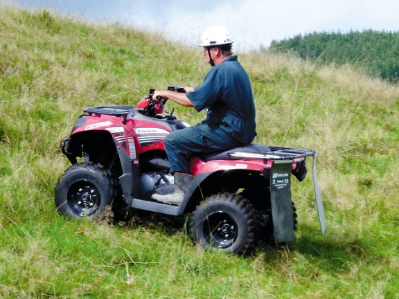 Review Kawasaki Brute Force 300 Quad