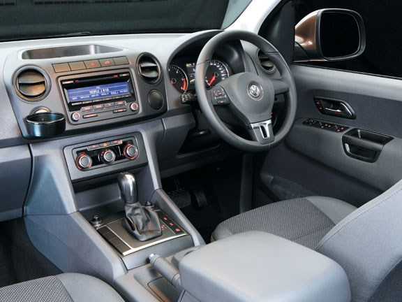 VW Amarok Highline interior