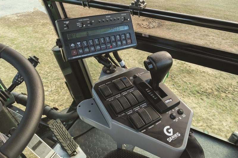 4039 Goldacres G series controls