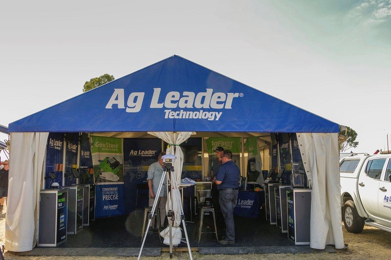 Ag Leader stand Wimmera 2014