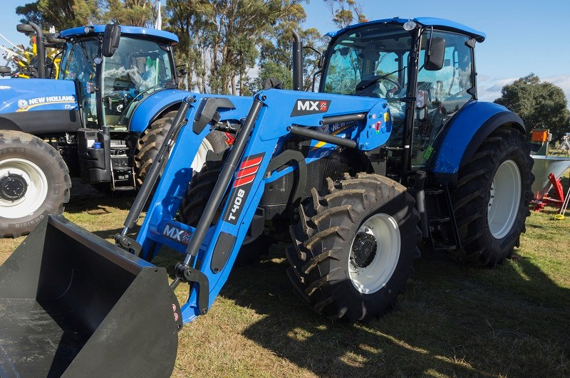 Agfest 2014 New Holland tractor 1