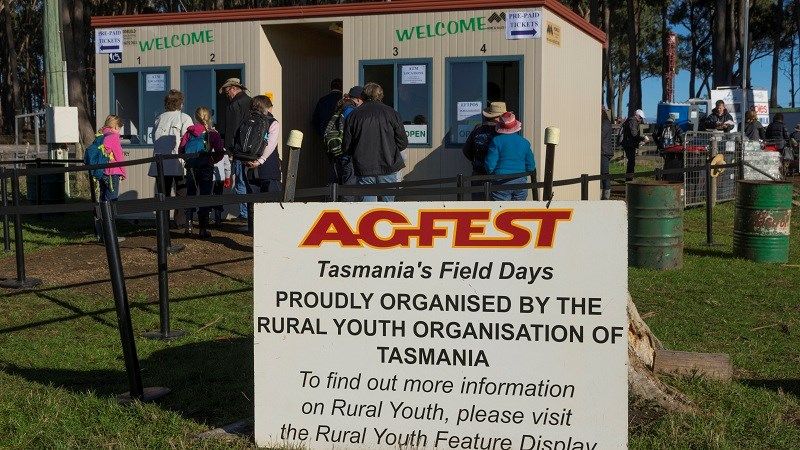 Agfest 2014 entrance