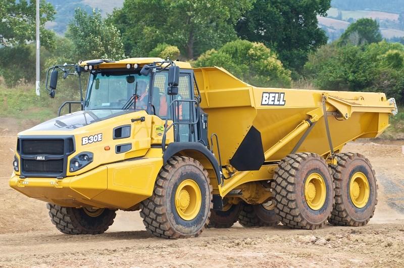 Bell B30e Articulated Dump Truck Review