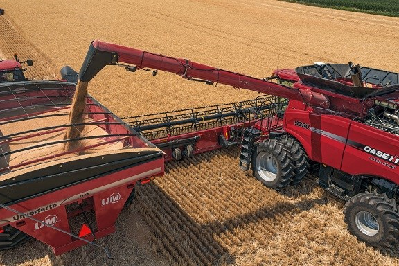 Case IH new 30 series Axial-Flow combine harvesters