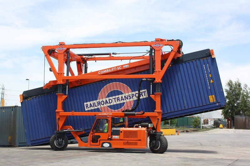Combilift SC3 T Container Handler Straddle Carrier 1