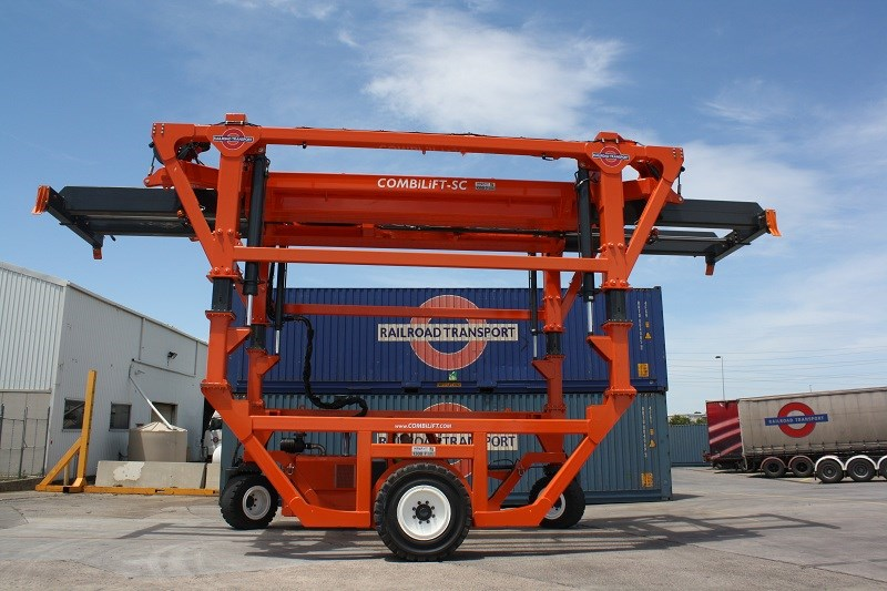 Combilift SC3 T Container Handler Straddle Carrier 5