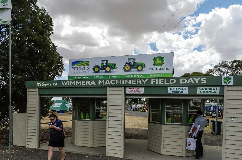 Entrance Wimmera 2014
