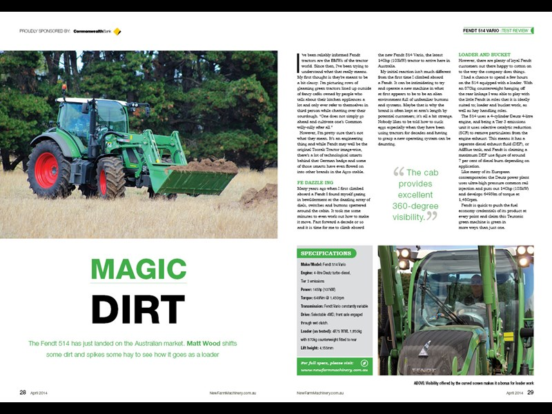 Fendt review