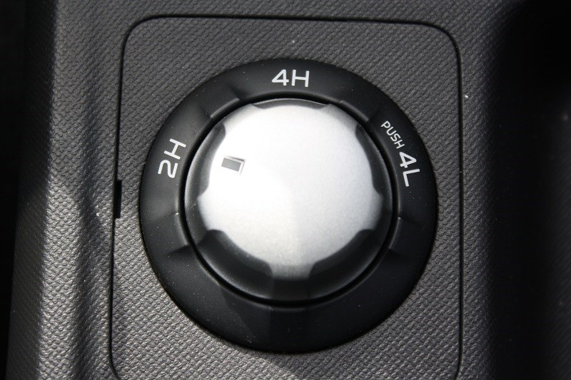 Isuzu D MAX gear shift