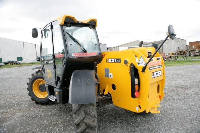 JCB 531 70 telescopic handler 1