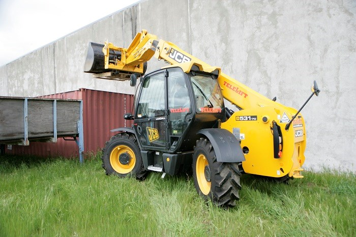 JCB 531 70 telescopic handler 7
