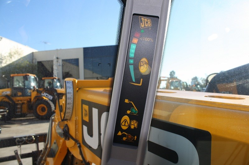 JCB Loadall 527 58 load indicator