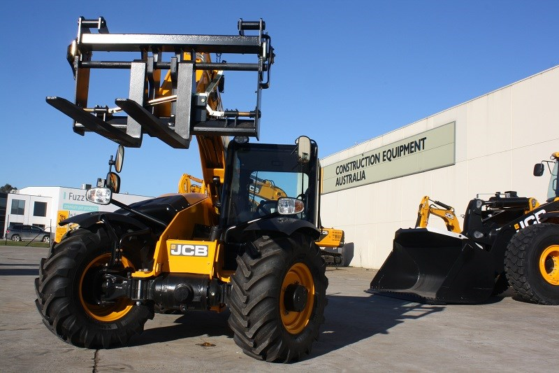 JCB Loadall 527 58 telehandler machine