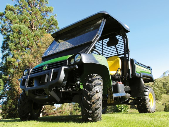 John Deere Gator 855D is well built