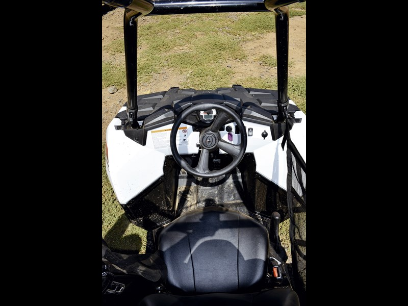 PolarisSportsmanACE 5 cabin