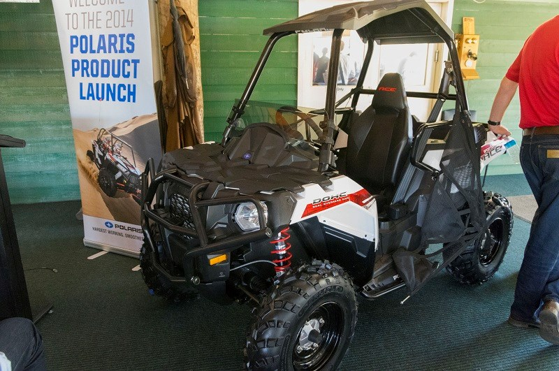 Polaris Sportsman ACE front