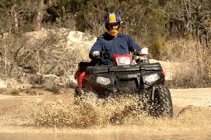 Polaris Sportsman X2 550 ATV 1
