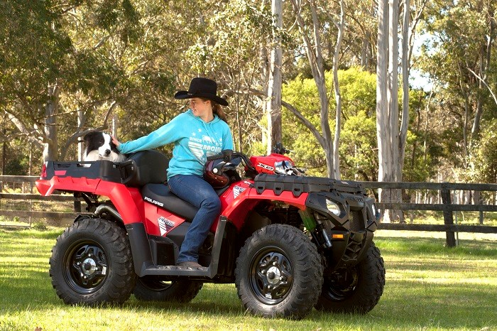 Polaris Sportsman X2 550 ATV 2