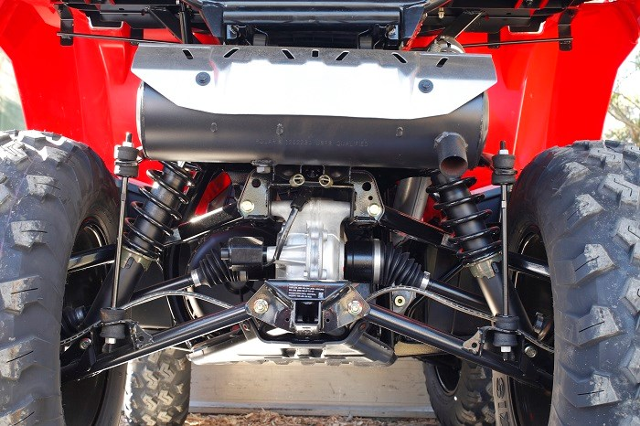 Polaris Sportsman X2 550 ATV rear shocks