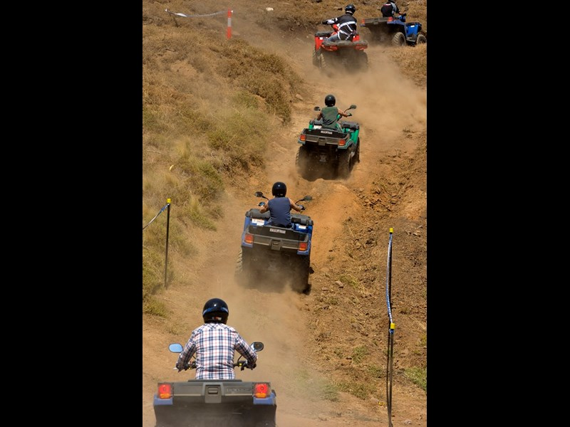 Polaris test ride