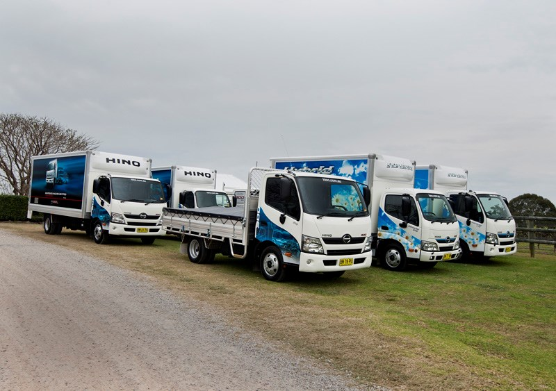 The new Hino 300 Series range from Hino offers operators plenty of choices.