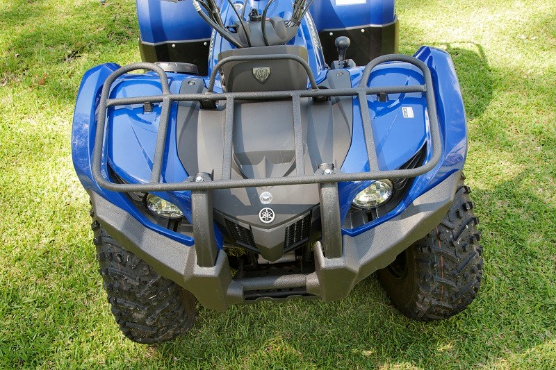 Yamaha 450 Grizzly cargo racks