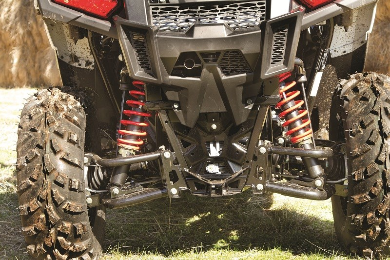 3 polaris ace rear end