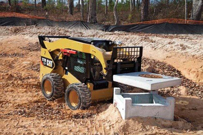 Cat 272D XHP skid steer loader