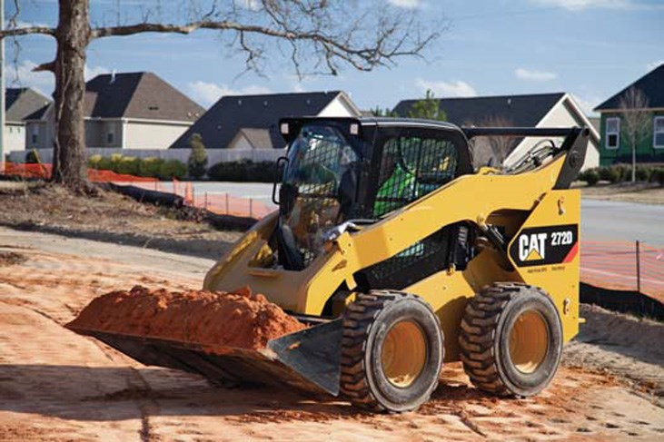 Cat 272D skid steer loader