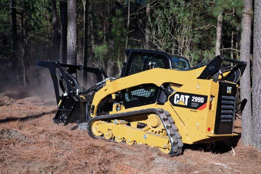 Cat 299D XHP compact track loader