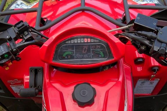Tested: CF Moto X5 ATV