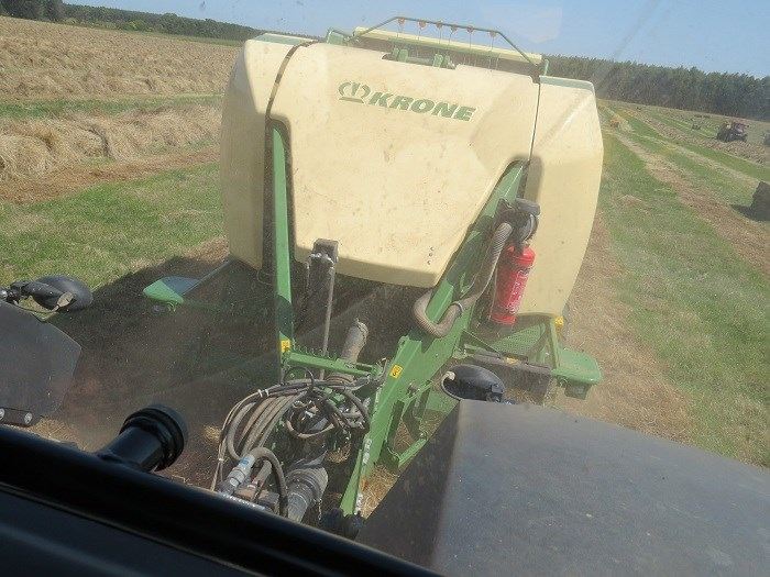 krone big pack high speed HDP 1290 baler demo 10