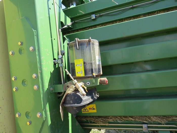 krone big pack high speed HDP 1290 baler demo 3