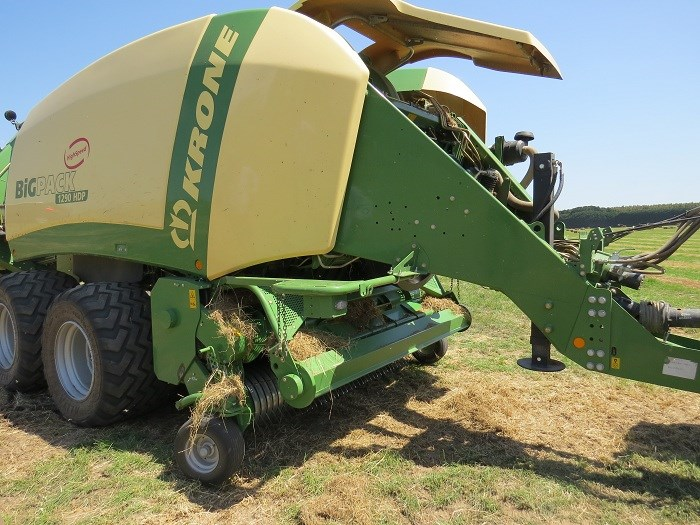 krone big pack high speed HDP 1290 baler demo 4