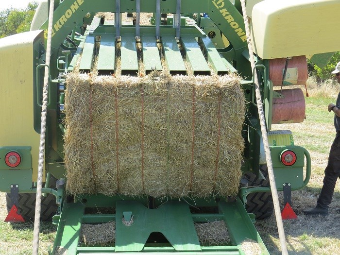 krone big pack high speed HDP 1290 baler demo 6