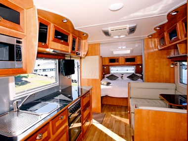 Millard Pinnacle caravan interior