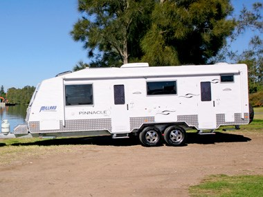Millard Pinnacle caravan ready for an outdoor adventure
