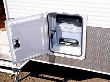 Millard Pinnacle caravan controls