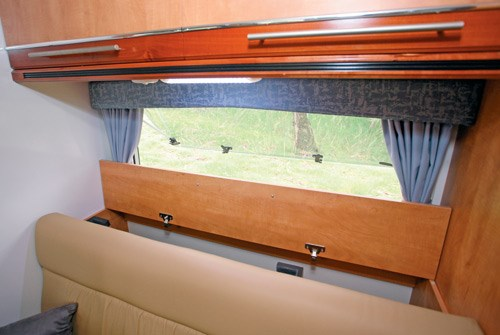 Wirraway Motor Homes 260SL interior storage