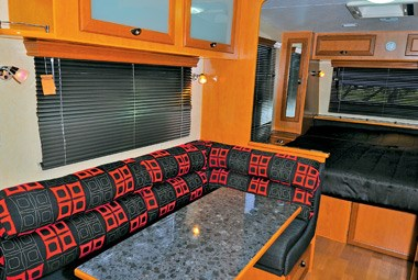 Royal Flair Caravans Family Flair lounge