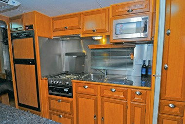 Royal Flair Caravans Family Flair kitchen