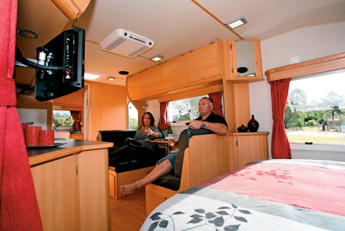 Exclusive Caravans Walk-A-Bout 620ST interior lounge