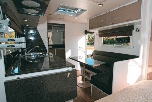 otron caravans signature series 3 lounge and dinette