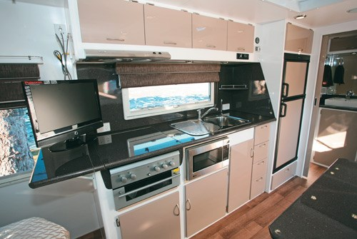 Otron Caravans Signature Series 3 kitchen