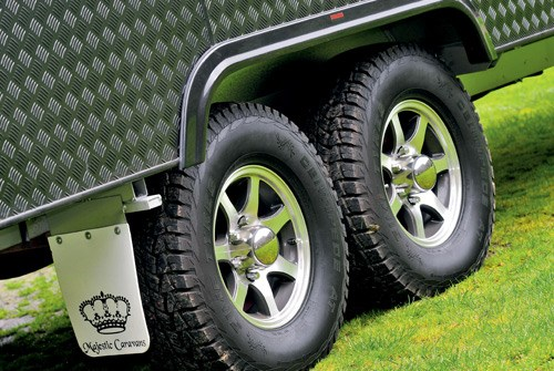 Majestic Caravans Trailblazer wheels