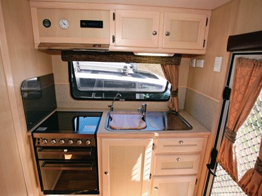 Kedron Caravans Cross Country XC3 kitchen