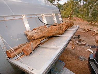 The Australian Off Road Campers Matrix and some firewood